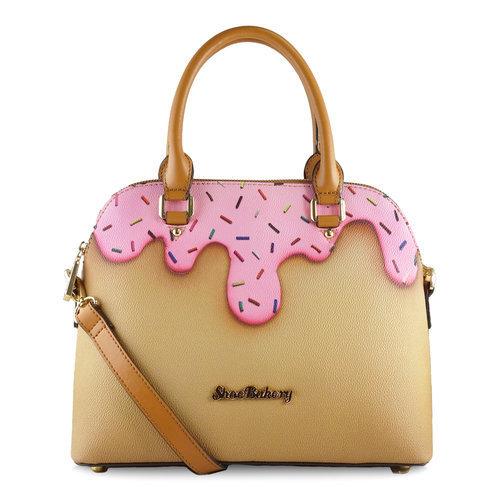 Pink Sprinkle Bowler Bag