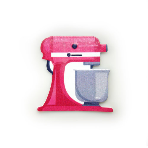 Magenta Mixer Sticker
