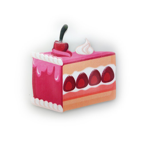 Strawberry Cake Sticker