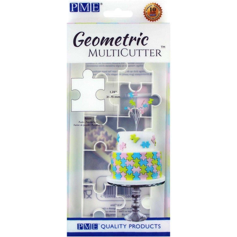 Geometric MultiCutter Puzzle Piece