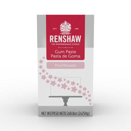 Renshaw Pink Gum Paste 1.1 lb