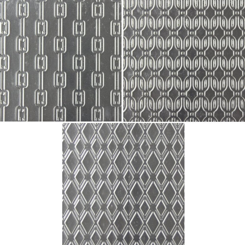 Linked Pattern Textured Sheet