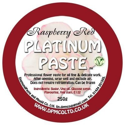 Platinum Paste Raspberry Red