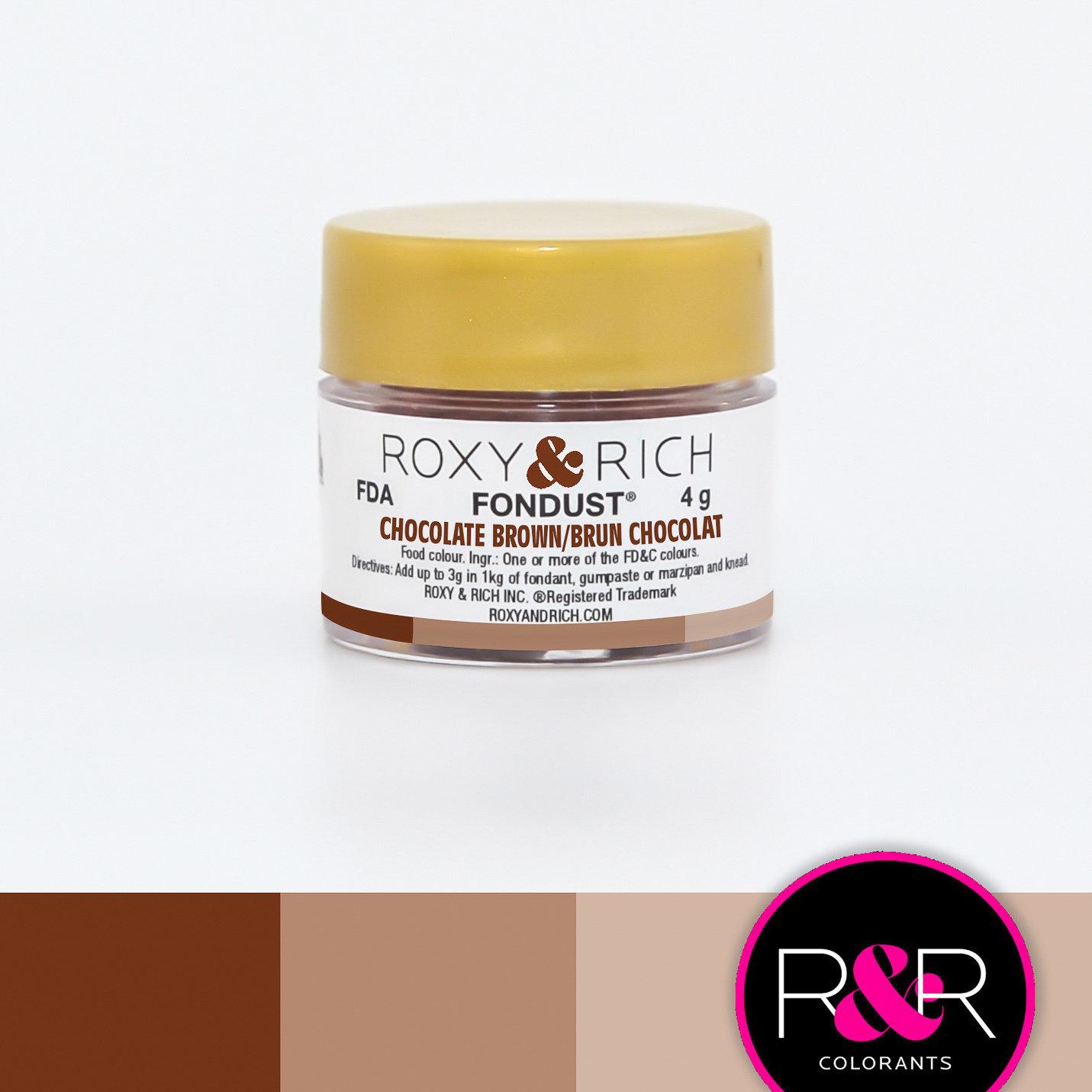 FonDust Chocolate Brown 4g