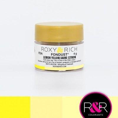 FonDust Lemon Yellow 4g