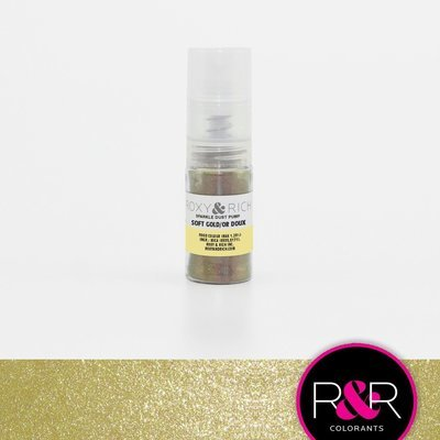 R&R Sparkle Dust Pump Soft Gold