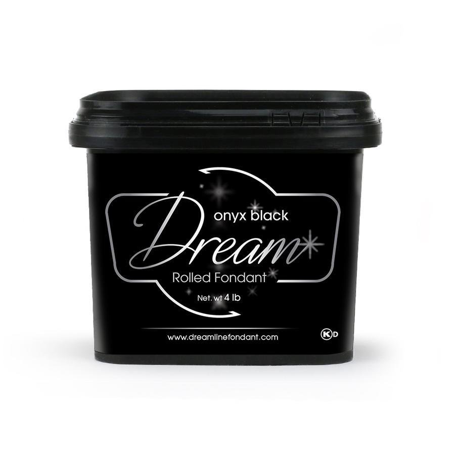 Dream Fondant Onyx Black 4lb