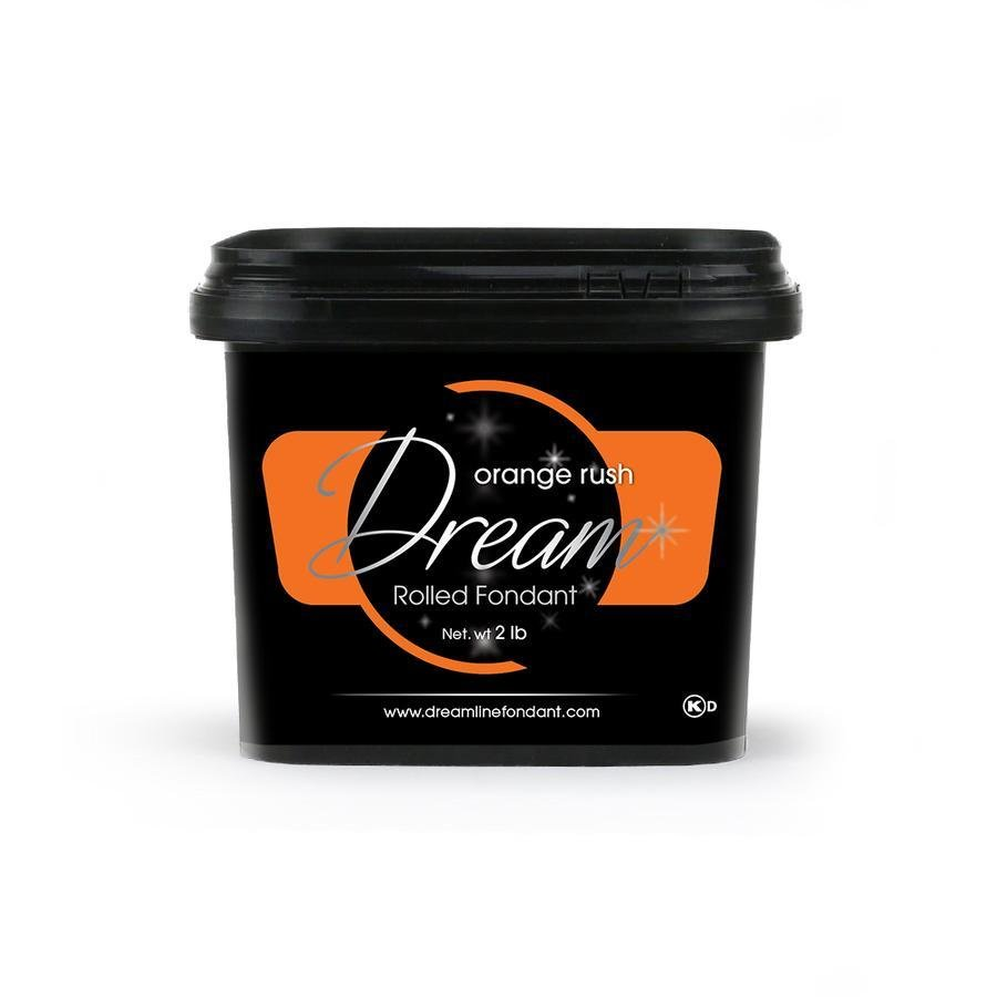 Dream Fondant Orange Rush 2lb