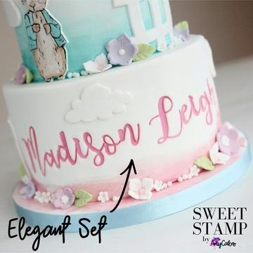 Sweet Stamp Elegant Set (Lowercase & Uppercase)