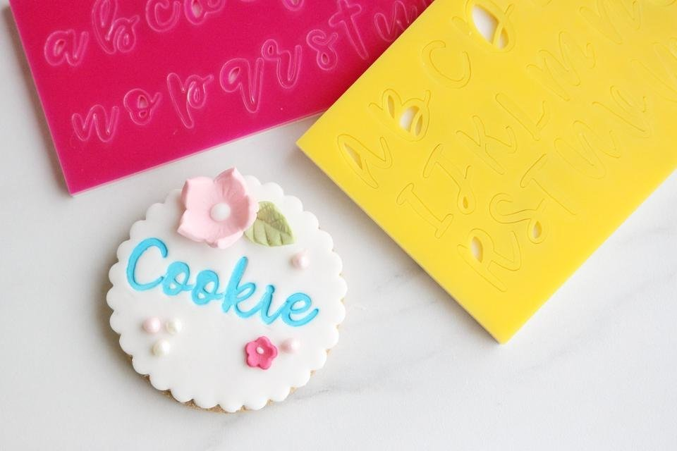 Sweet Stamp Cookie Set (Uppercase, Lowercase, Numbers, and Symbols)