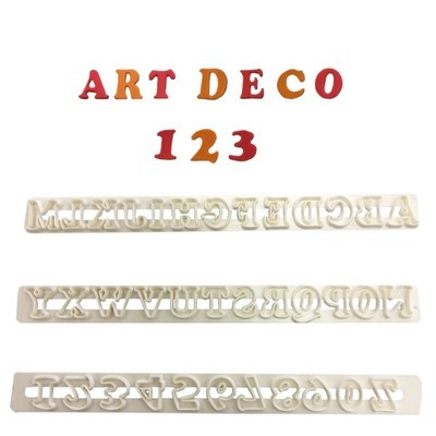 FMM Art Deco Alphabet & Numbers 2 UC