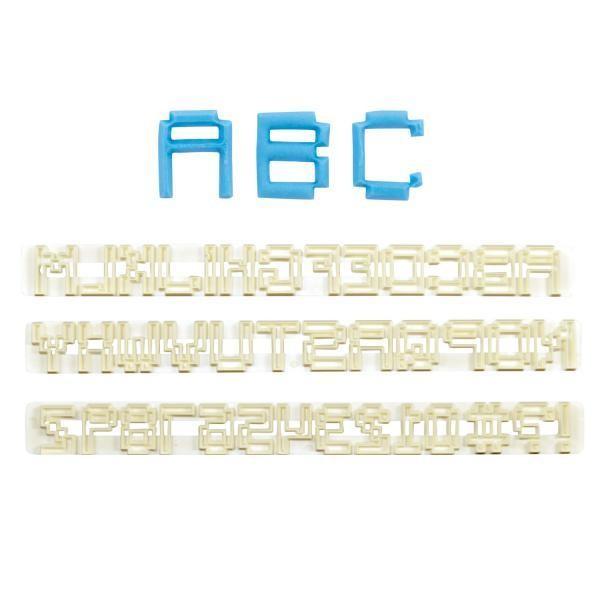 FMM Pixel Alphabet & Number Set