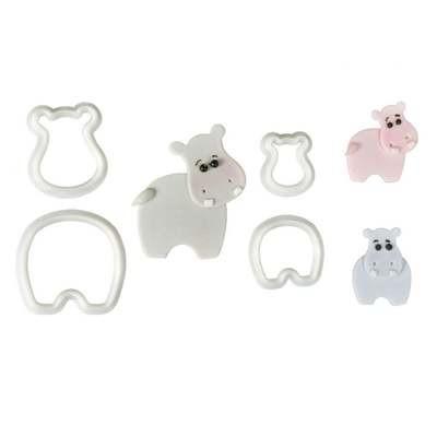 Hippopotamus Cutter Set