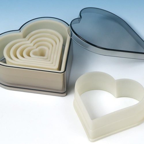 Heart Nylon Cutter Set