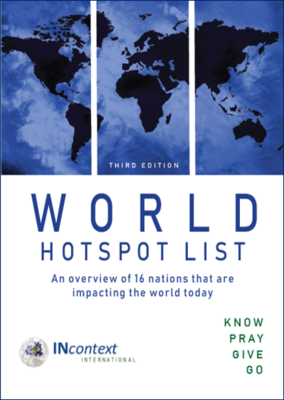 3. WORLD HOTSPOT LIST (3RD EDITION)