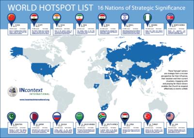 4. WORLD HOTSPOT LIST MAP (A1)
