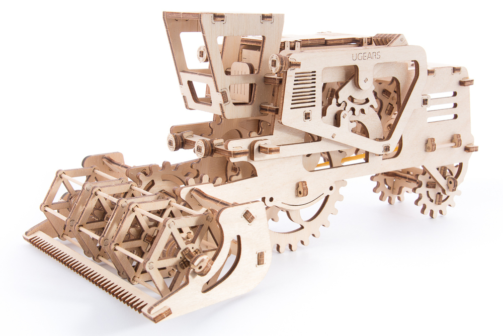 Конструктор 3D-пазл UGEARS Комбайн