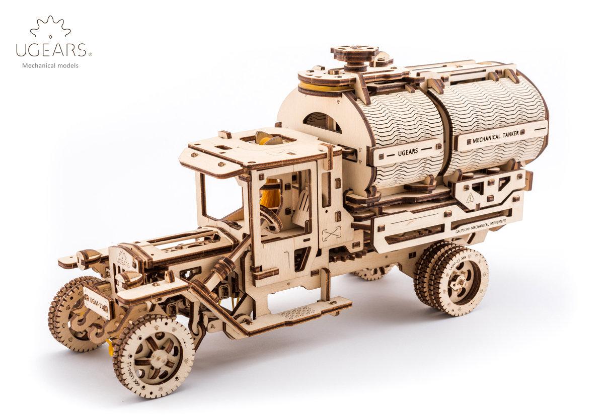 Конструктор 3D-пазл UGEARS Автоцистерна