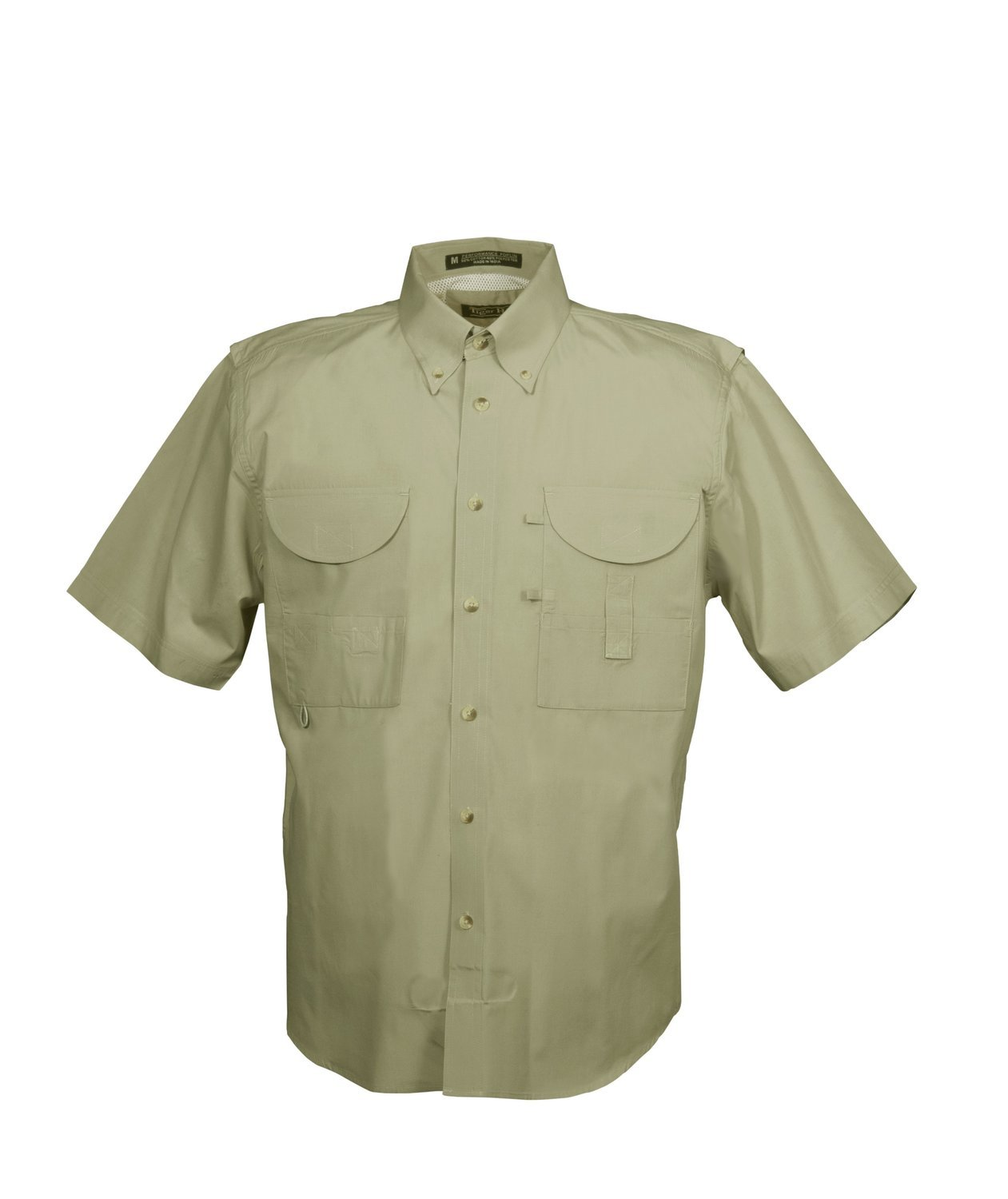 Tiger Hill Men's Fishing Shirt Short Sleeves Sage