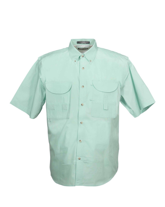 Tiger Hill Men's Fishing Shirt Short Sleeves Seafoam Mint
