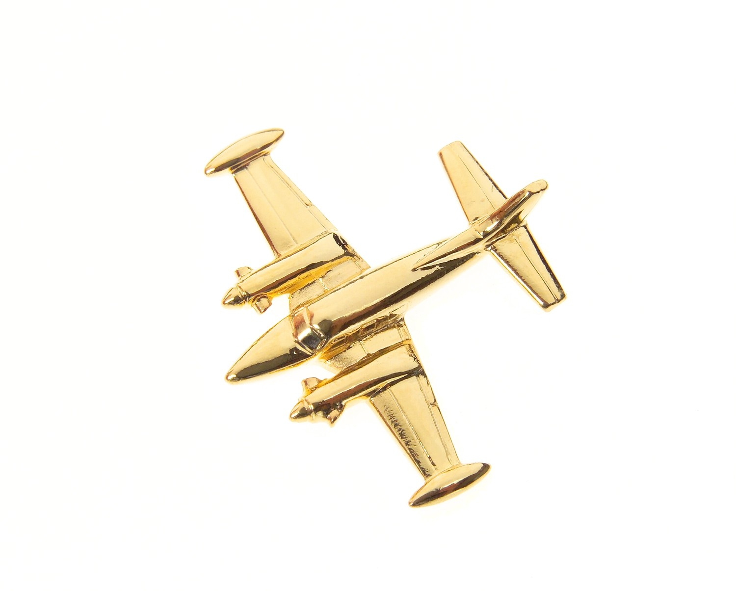 Piper Cheyenne Gold Plated Tie / Lapel Pin