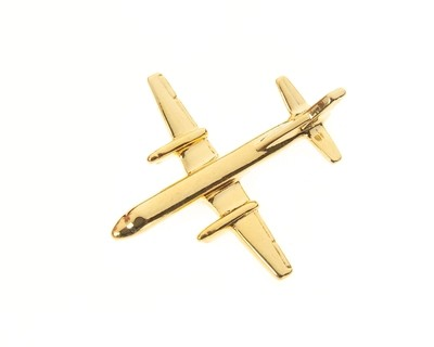 SAAB 2000 Gold Plated Tie / Lapel Pin