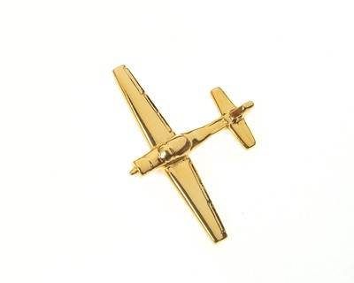 Slingsby T3A Firefly Gold Plated Tie / Lapel Pin