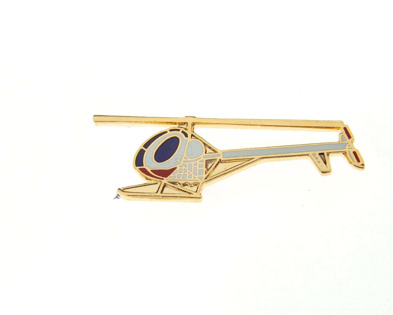 Hughes 300 Enamel Tie / Lapel Pin