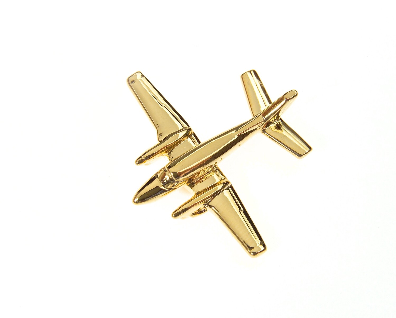 Beech C90 Gold Plated Tie / Lapel Pin