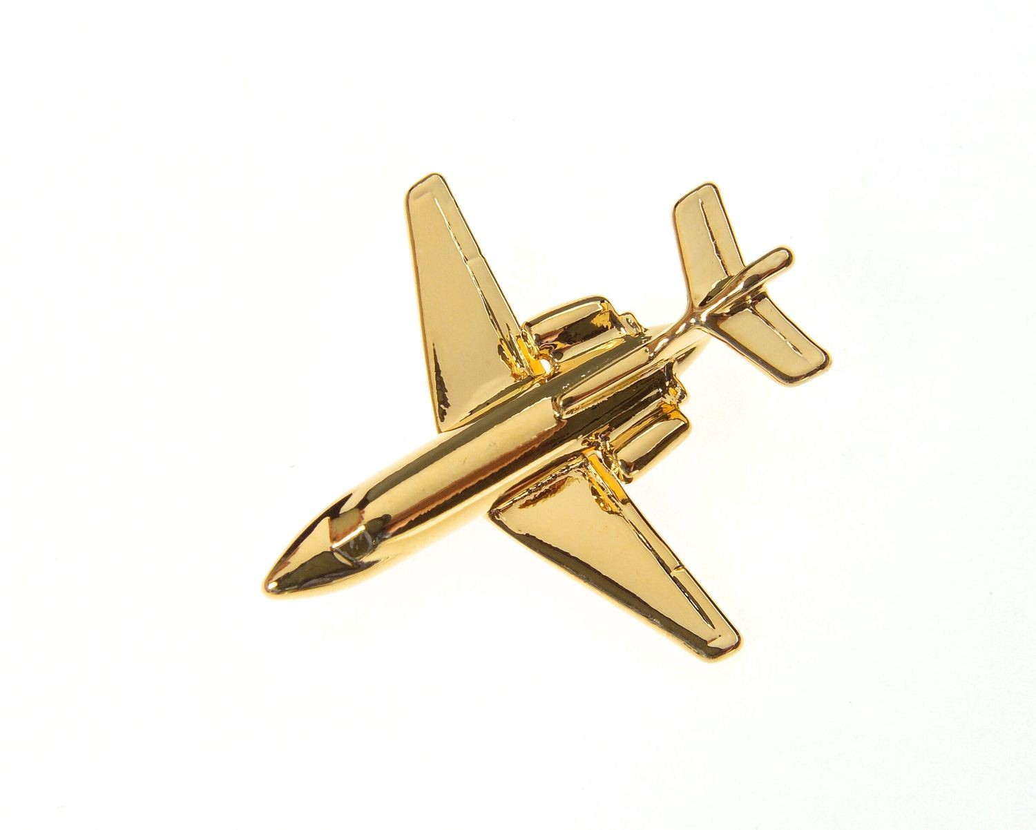 BAe 125 / HS125 Gold Plated Tie / Lapel Pin