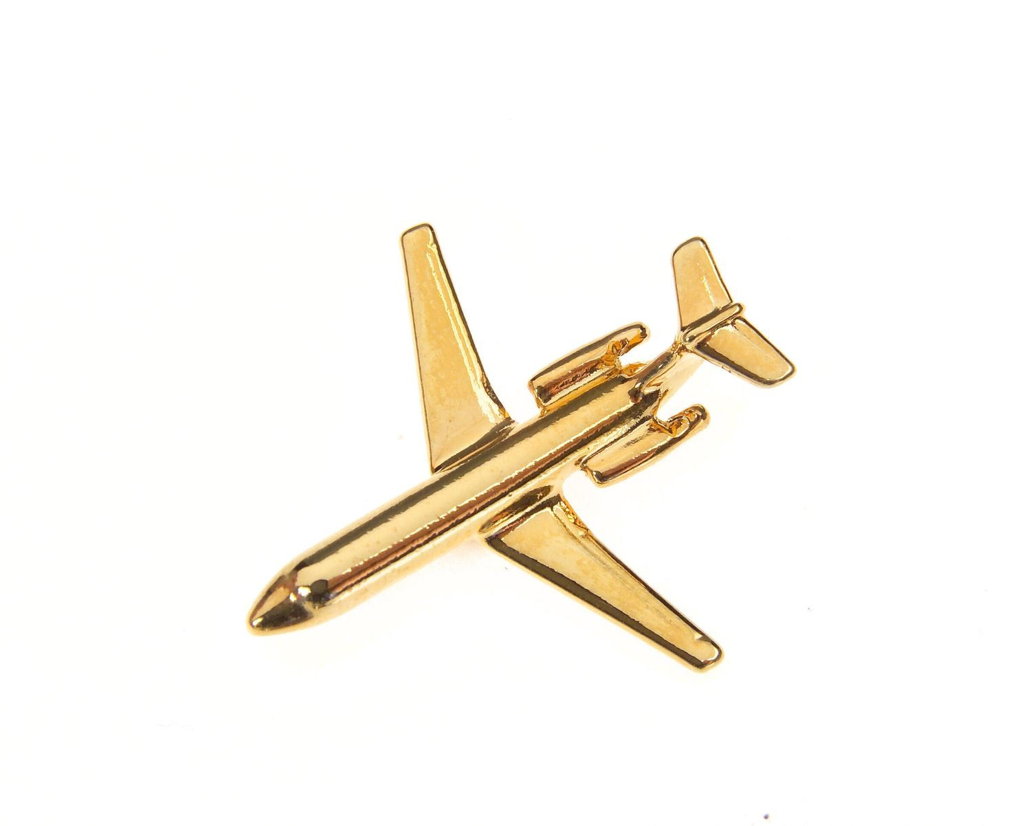 BAC 111 One Eleven Gold Plated Tie / Lapel Pin