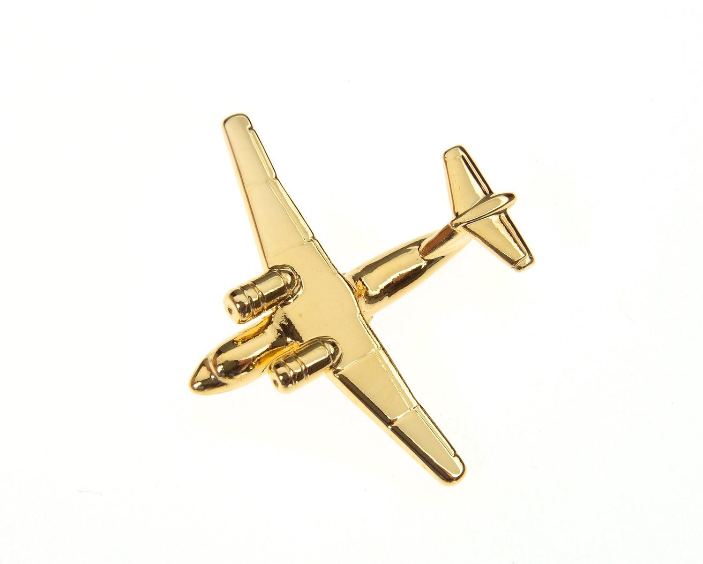 Antonov An74 Gold Plated Tie / Lapel Pin