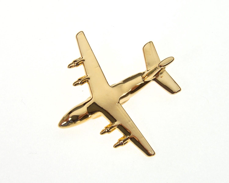 Antonov An70 Gold Plated Tie / Lapel Pin