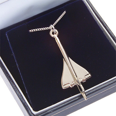 Concorde Pendant Nickel Plated