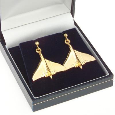 Vulcan Earrings Gold Plated