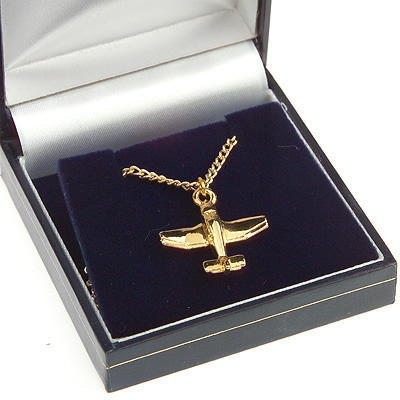 Robin Pendant Gold Plated