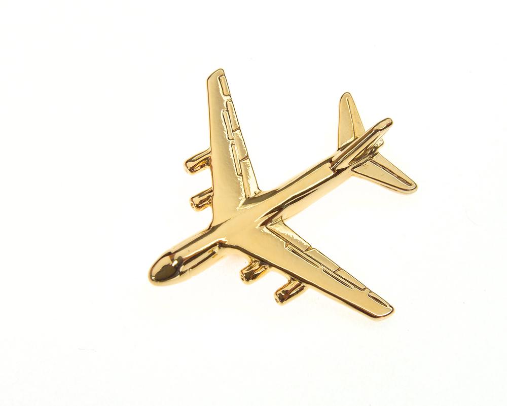 Antonov An124 Gold Plated Tie / Lapel Pin
