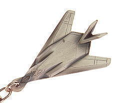 F117 Stealth Fighter Keyring