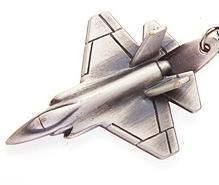 JSF Lightning II Keyring