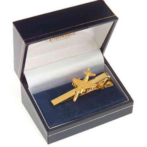 Harrier GR7 Tie Bar / Clip Gold Plated