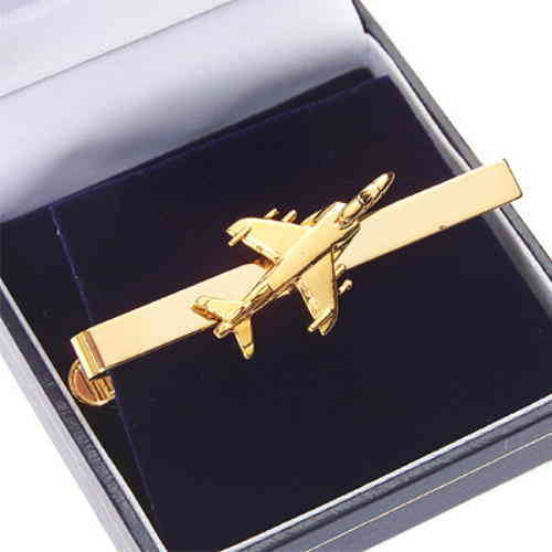 Sea Harrier Tie Bar / Clip Gold Plated