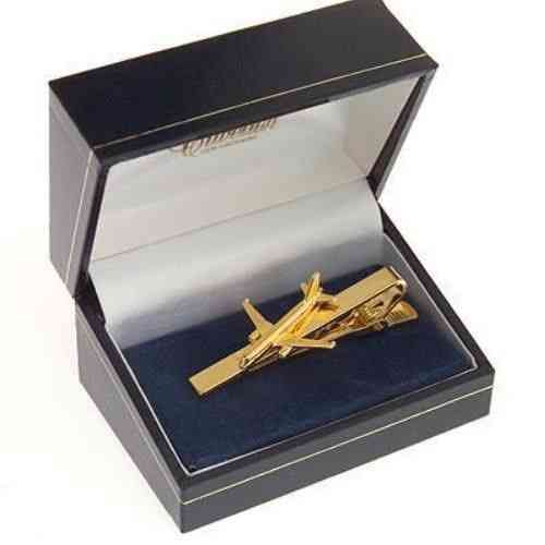Airbus A320 Tiebar / Clip Gold Plated