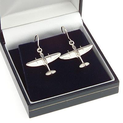 Spitfire Earrings Solid Silver
