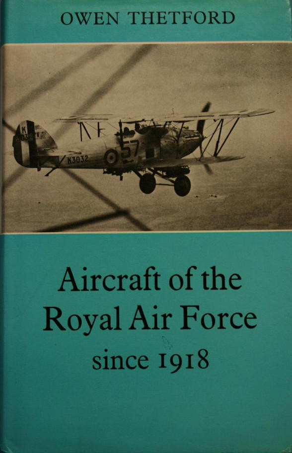 Aircraft of the Royal Air Force Since 1918