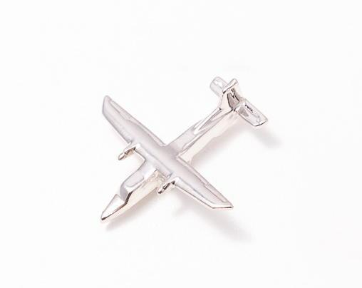 Dornier 228 Nickel Plated Tie / Lapel Pin
