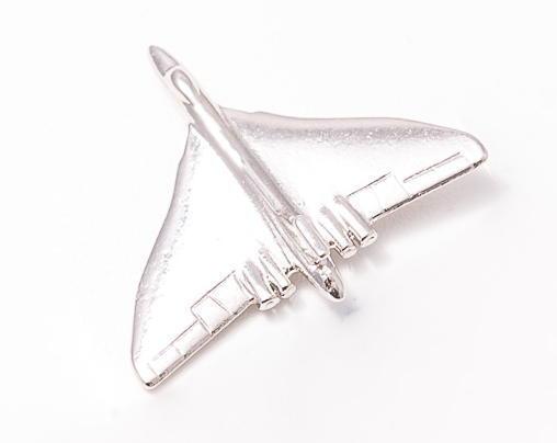 Vulcan Nickel Plated Tie / Lapel Pin