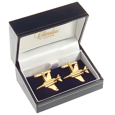 F4 Phantom II Cufflinks Gold Plated