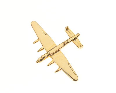 Lancaster Gold Plated Tie / Lapel Pin