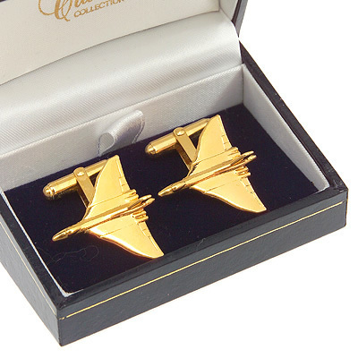 Vulcan Cufflinks Gold Plated