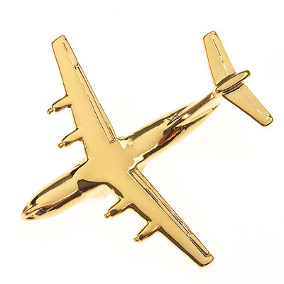 Airbus A400M Atlas Gold Plated Tie / Lapel Pin